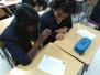 Grade 8 Activity - Button stitching